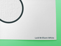 Laid Brilliant White