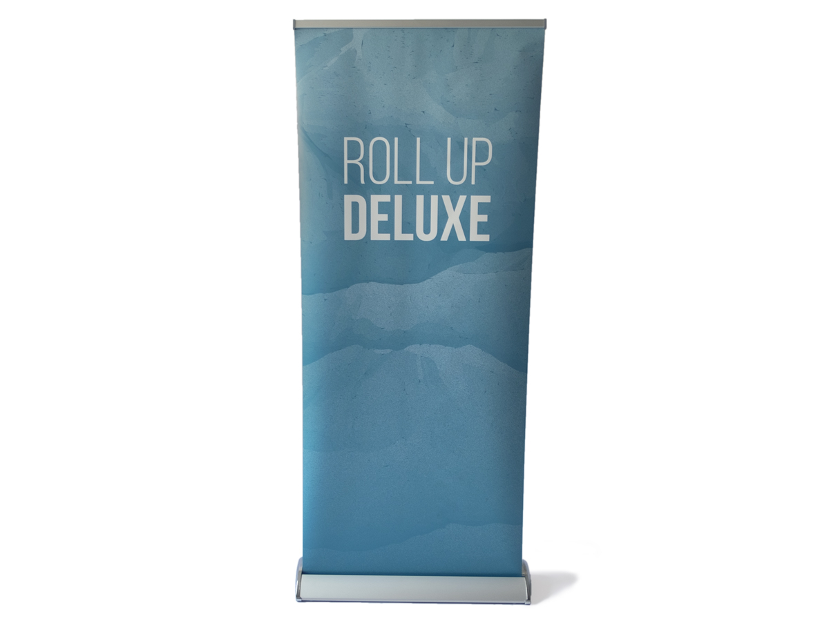 Roll up banner typ deluxe