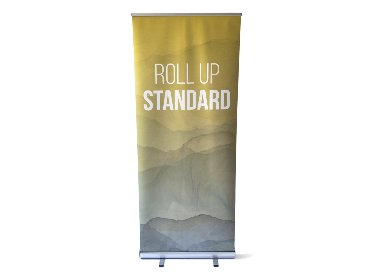 Roll up banner typ standard